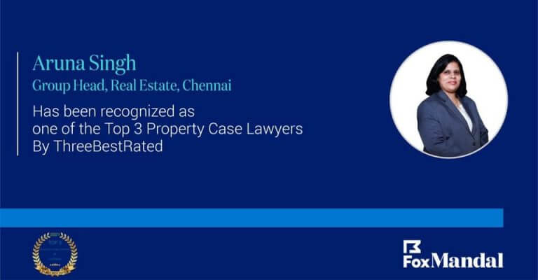 Aruna Singh - Top Property Case Lawyer in Chennai - Three Best Rated