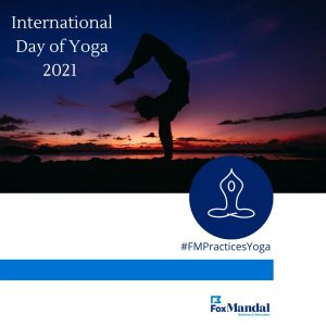 Fox Mandal is cherishing the spirit of #internationalyogaday2021. Take the time to prioritize your health and make your soul happy!