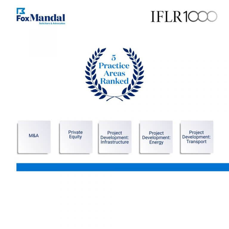 Fox Mandal ranked by IFLR1000