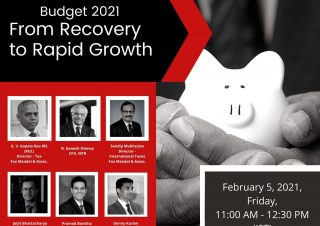 News -Union Budget 2021 - From Recovery to Rapid Growth
